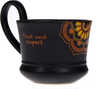 Urban Monk Creations blackprintmug07 Ceramic Mug