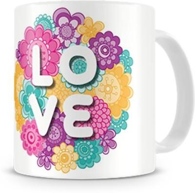 Print Haat Designer Love Ceramic Mug