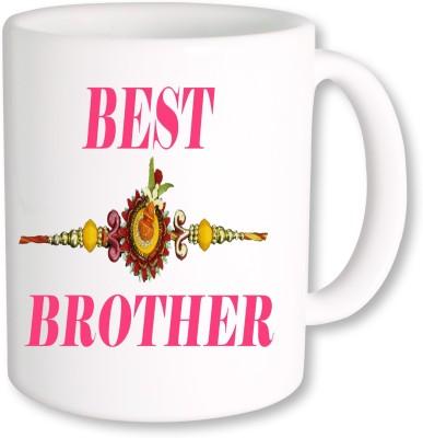 Heyworlds Rakhi Gift for Rakshabandhan 0031 Ceramic Mug