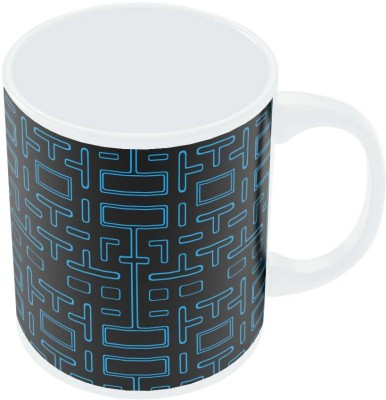 PosterGuy Pixel Art Pacmanmaze Graphic Art Porcelain Mug