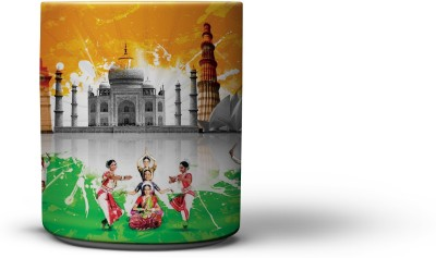 The Nodding Head Traditional Dance Coffee Ceramic Mug