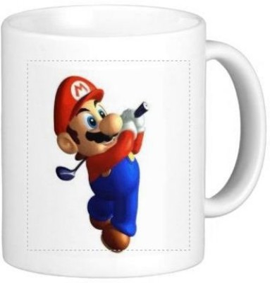 G&G Golf Mario Vs Luigi Ceramic Mug