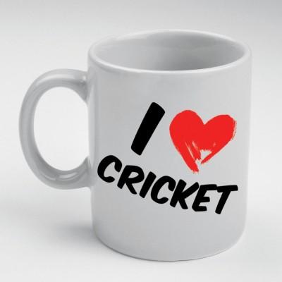 Prokyde Prokyde I Love Cricket  Ceramic Mug