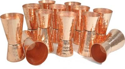 Dakshcraft Serveware Jigger Copper Mug