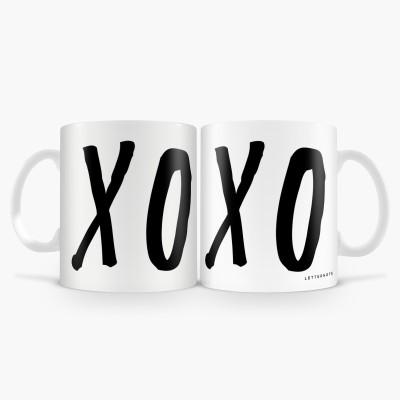 LetterNote XO XO Combo Ceramic Mug