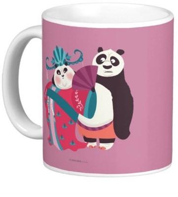 Exoctic Silver Kung Fu Panda 26 Ceramic Mug