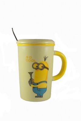Satyam Kraft So Cool Minion Ceramic Mug
