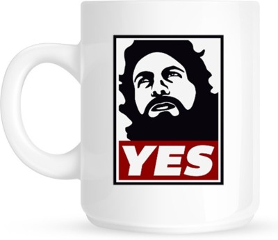 Huppme Gifts Daniel Bryan Yes Movement White  Ceramic Mug