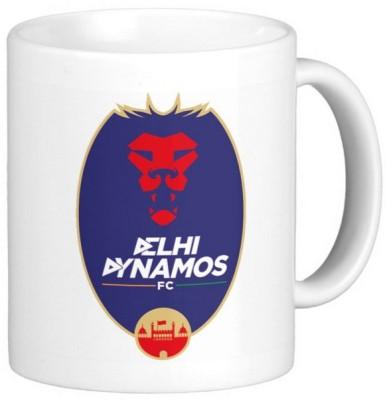 Exoctic Silver ISL Delhi Dynamos FC Ceramic Mug