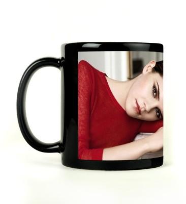 Rockmantra Lovely Emma Watson Ceramic Mug