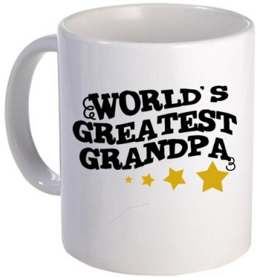 Giftsmate World's Greatest Grandpa Ceramic Mug