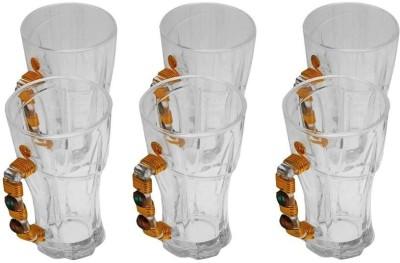 JewelKraft Designs Green Tea Crystal Mug