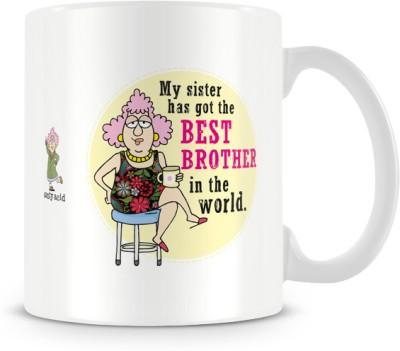 Tashanstreet Aunty Acid Best Brother Ceramic Mug