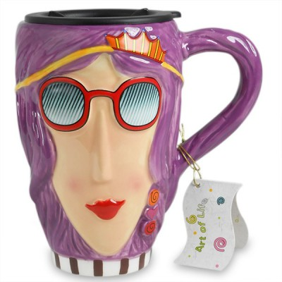 Archies Lovely Lady Face  Ceramic Mug