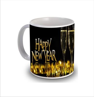 Print Hello Happy Birthday Cake b277 Ceramic Mug