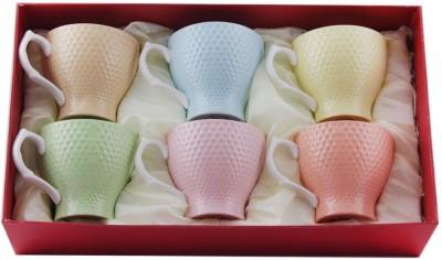White Gold 8060 - 6(Multi) Porcelain Mug