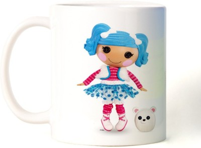 Rockmantra Cute Stuf Doll Happy Friendship Day Ceramic Mug