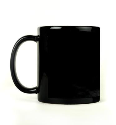 AURRA PRINTED BLACK-808 Ceramic Mug