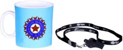 ICC India Cricket Team T20 World Cup Official Cheering Souvenier Kit 3 Ceramic Mug