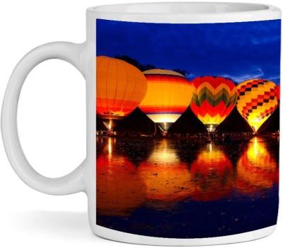 BSEnterprise Air Balloon Ceramic Mug