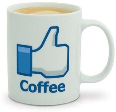 TGS I Like Coffee Porcelain Mug