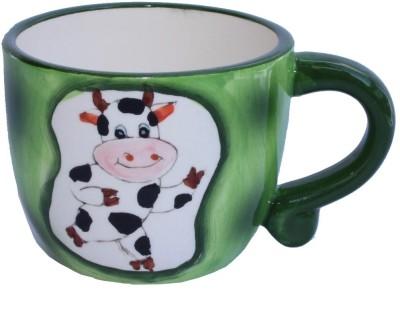 Aarzool 3D Cow Ceramic Mug