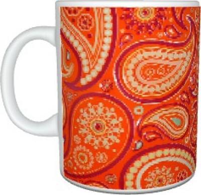 Creatives Paisley Ceramic Mug