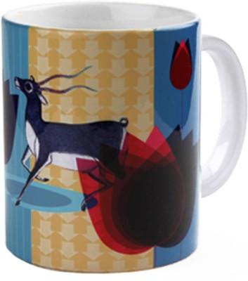 Studio Pandora Buck Ceramic Mug