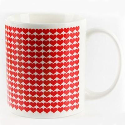 BonZeal Love Magic Color Changing Ceramic Mug