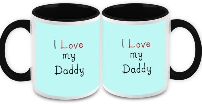 HomeSoGood Some Superheroes Are Called Dads Quote Ceramic Mug