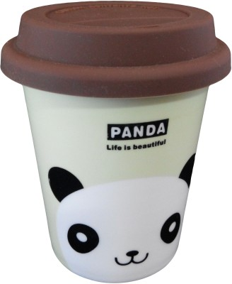 GeekGoodies Panda Ceramic Cream Ceramic Mug