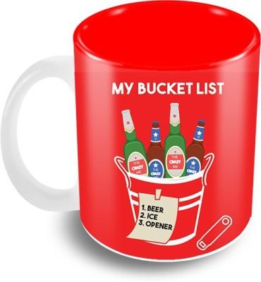 Thecrazyme My Bucket List Ceramic Mug