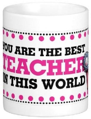 Easyhome You are Best Teacher Ceramic Mug