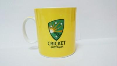 Indigo Creatives Official ICC T 20 Cricket World Cup Australia Team Logo Ceramic Coffee  Ceramic Mug