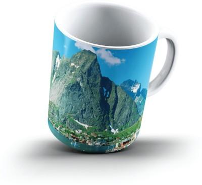 Ucard Reine Lofoten Islands Norway2640 Bone China, Ceramic, Porcelain Mug