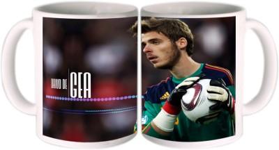 Shopkeeda FIFA 2014 David De Gea Ceramic Mug