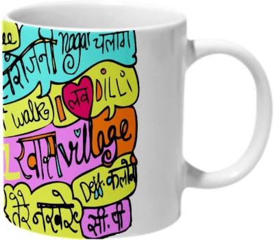 Mooch Wale I Love Delhi Ceramic Mug