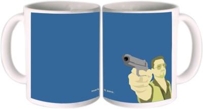 Shopkeeda Mark It Zero Ceramic Mug