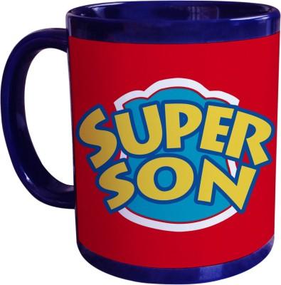 Sajawat Homes Gifts For Super Son Blue Coffee Ceramic Mug