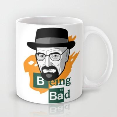 Astrode Breaking Bad Walter White Vs Heisenberg Ceramic Mug