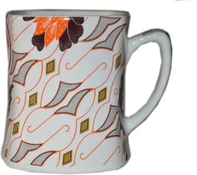 MGPLifestyle English Color Designer Coffee/Milk  Ceramic Mug