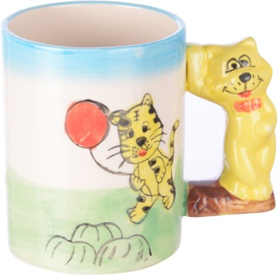 DRL Baby Tiger Sketch Bone China Mug