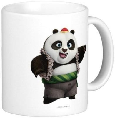 Exoctic Silver Kung Fu Panda 20 Ceramic Mug