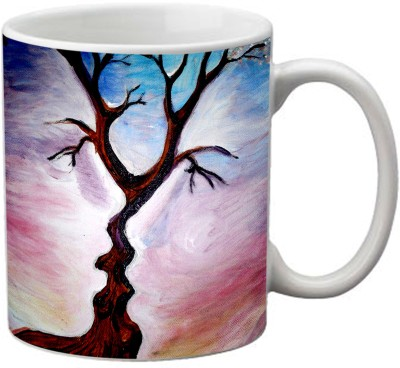 Romanshopping Tree  Bone China Mug