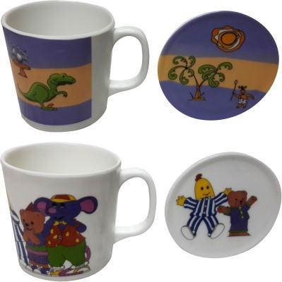Zido Dinasour and Joker Melamine Mug