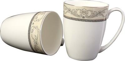 Aspirationz Az-Ds059-2 Pcs  Bone China Mug