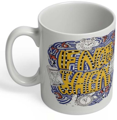 PosterGuy If Not Now Then When Ceramic Mug