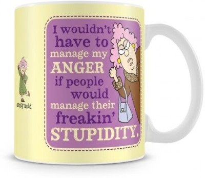 Aunty Acid Anger Management Ceramic Mug