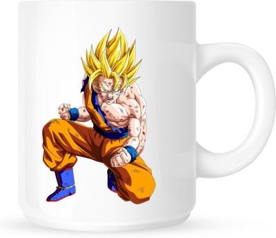 Huppme Dragon Ball White Ceramic Mug