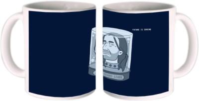 Shopkeeda Future Is Coming Eddard Stark Ceramic Mug